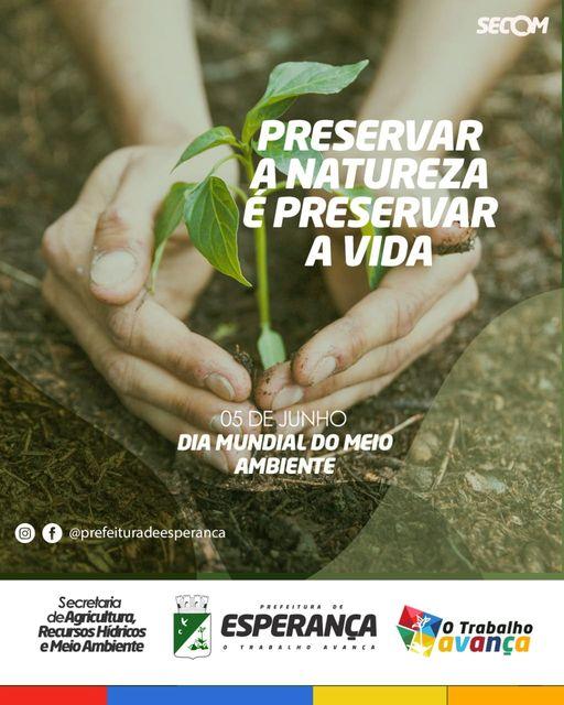 🌱5 de junho - Dia Mundial do Meio Ambiente!