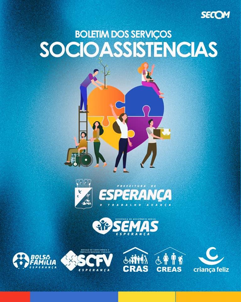 😍 Assistência Social em ação!
