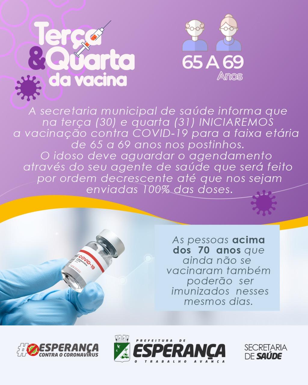 💉A vacina é a única solução eficaz para combater a pandemia!